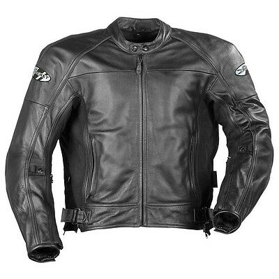 Joe Rocket Sonic 2.0 Leather Jacket Black (Large)