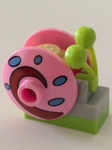 *NEW* 1 Lego Minifig Spongebob Squarepants Snail GARY