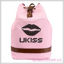 U-KISS KISS ME KPOP UKISS CANVAS BAG PINK BACKPACK NEW