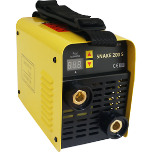 Profi Magnum SNAKE 200S Schweißgerät 230V Inverter MMA Elektroden 3,5 kg