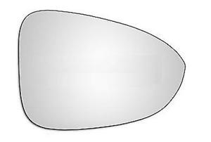 Spiegelglas Außenspiegel Rechts Heizbar Konvex Chrom OPEL ZAFIRA TOURER C