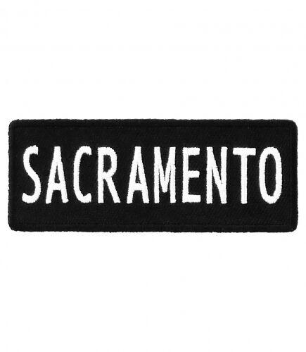 Sacramento California Patch Major US City Patches