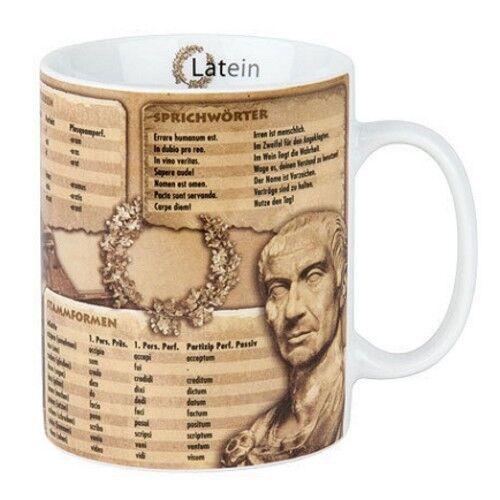 Latein Kaffeebecher Könitz Tasse Jumbo 0,46 l
