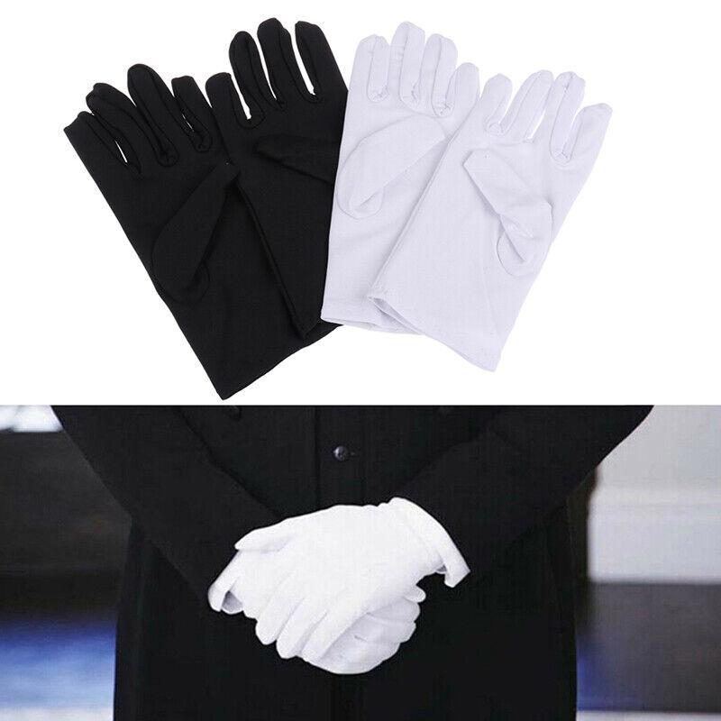 1 Paar Baumwollhandschuhe Khan-Stoff Rituale für feste Handschuhe spielen weiBOD