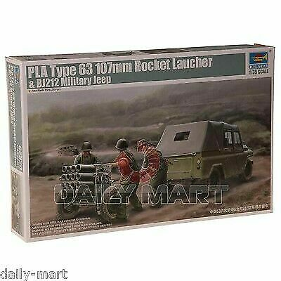 Military Jeep For Sale >> Trumpeter 02320 1 35 Pla Type 63 107mm Rocket Launcher And Bj212 Military Jeep For Sale Online Ebay