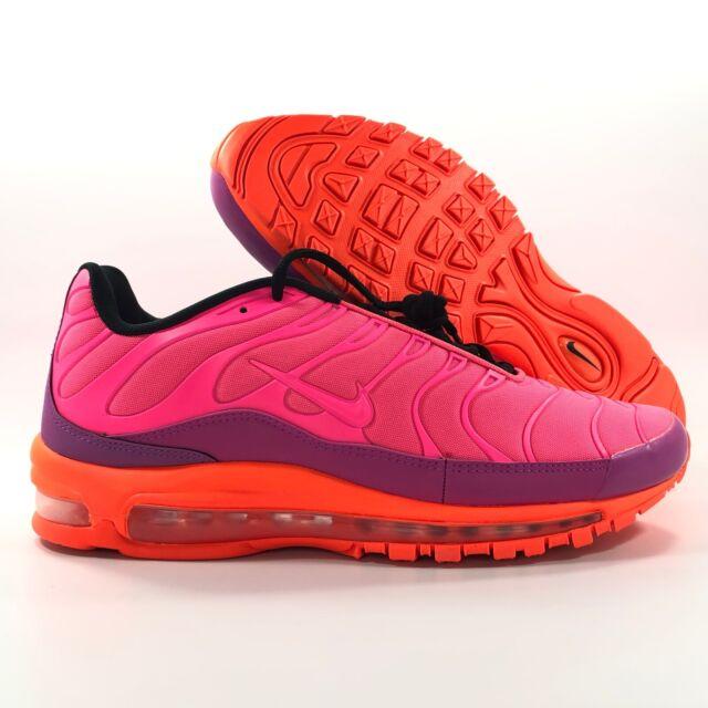 the best attitude 34860 3c663 Nike Air Max 97 Plus Racer Pink Hyper Magenta Purple AH8144-600 Men's 11.5
