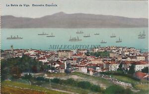 SPAIN - La Bahia de Vigo - Escuadra Espanola