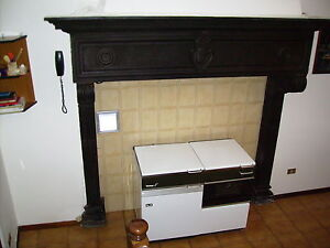 CAMINO ANTICO IN PIETRA DEL 1500 TOSCANO - ANTIQUE FIREPLACE TUSCANY