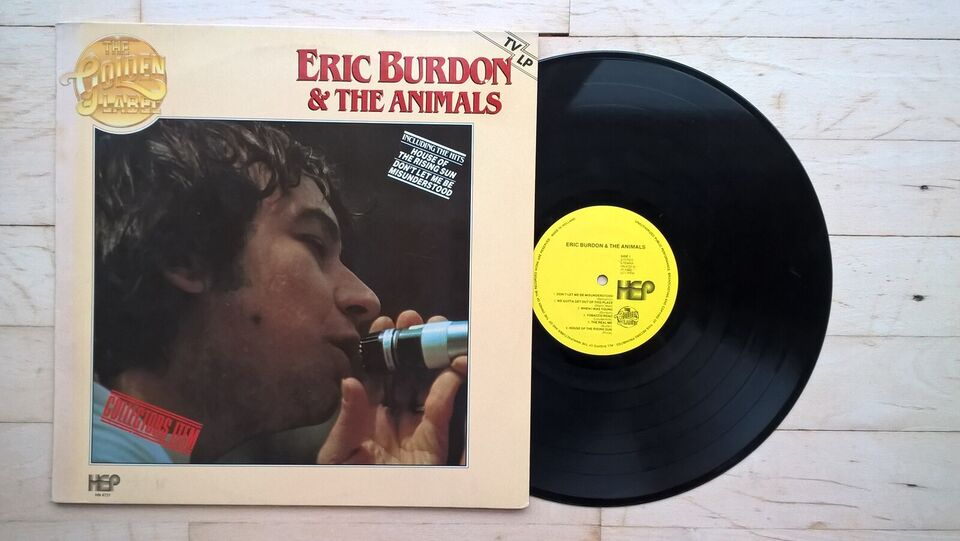 LP, Eric Burdon & The Animals, Eric Burdon & The Animals