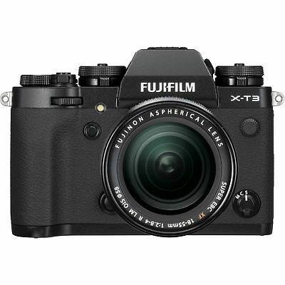 Nuovo Fujifilm X-T3 XT3 Digital Camera with 18-55mm Lens - Black