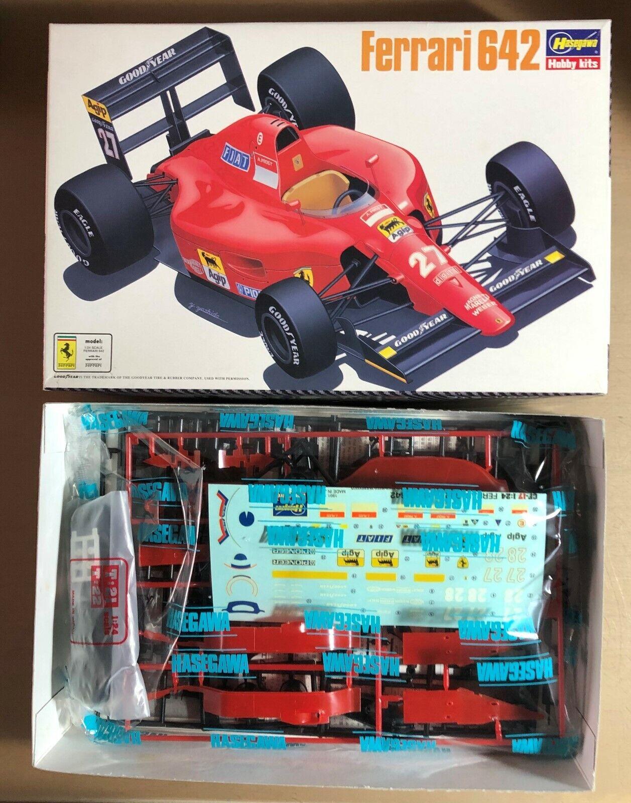 HASEGAWA 23017 - FERRARI 642 - 1 24 PLASTIC PLASTIC PLASTIC KIT 51afdc
