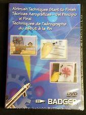 Badger Bd-103 Airbrush Techniques Start to Finish DVD