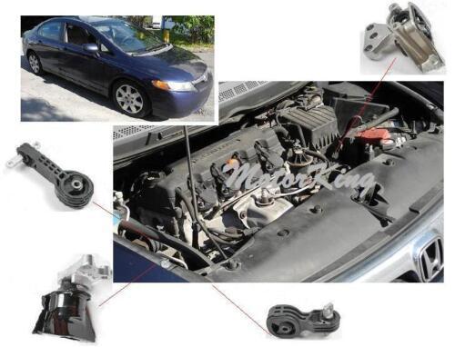 NEW For Honda Civic 1.8L 2006 2007-2010 Lower Engine Torque Strut Mount 4534