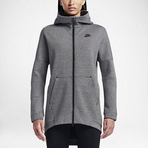 Taglia S 063 Grigio Nero Nike Tech 811710 Cape Hoodie Fleece Womens nqAaYXxw
