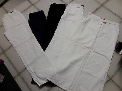 4 Paia Di Pantaloni Jeans Taglia 46+gonna Lunga(ovs Oviesse,verso,pacific Trail) Buon Sapore