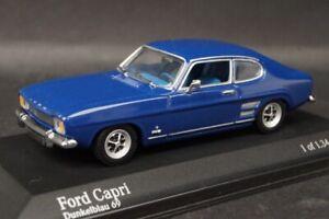 Minichamps 1:43 Ford Capri II dark blue
