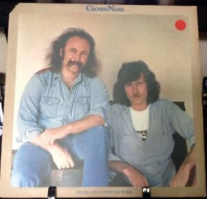 CROSBY-NASH-Whistling-Down-The-Wire-ALBUM-Released-1976-Vinyl-Record-Collection