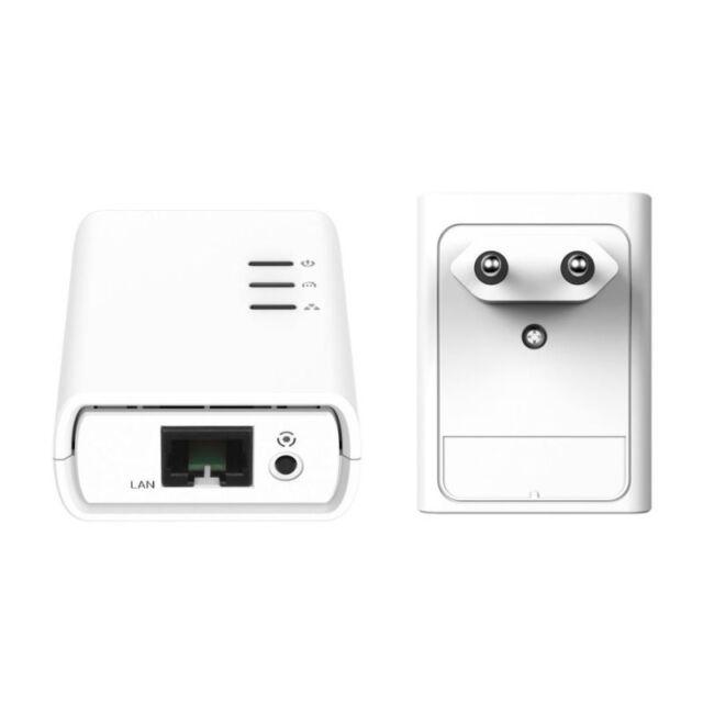 TP-LINK AV500 NANO DUE POWERLINE KIT 2x 500MBPS TL-PA411KIT SKY / Mediaset / PC