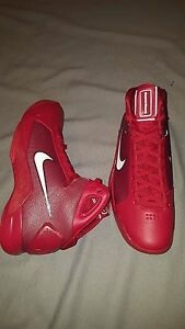 4bb45b33008 NIKE HYPERDUNK 08 GYM RED WHITE 820321 601 MENS SHOES SIZE US 11 NEW ...