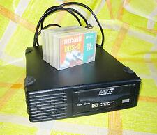 HP StorageWorks DAT 72 dds5 USB + 4 nuovi eingeschweisste dat72 nastri