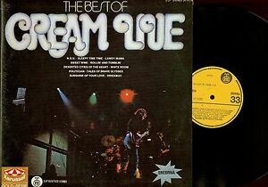 DLP-THE-BEST-OF-CREAM-LIVE-YUGOSLAVIA-PRESS-RARR-NM