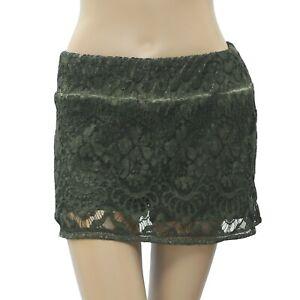 Anthropologie Encaje Floral Verde Skort Pantalones Cortos De Verano Estilo Boho Xs Nuevo 180965 Ebay