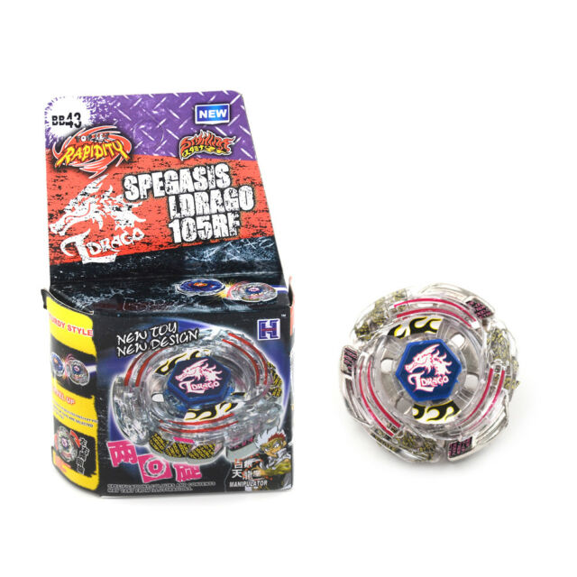 New Beyblade Master BB43 Rapidlty Battle Fusion Fight Master Collection Toy CA