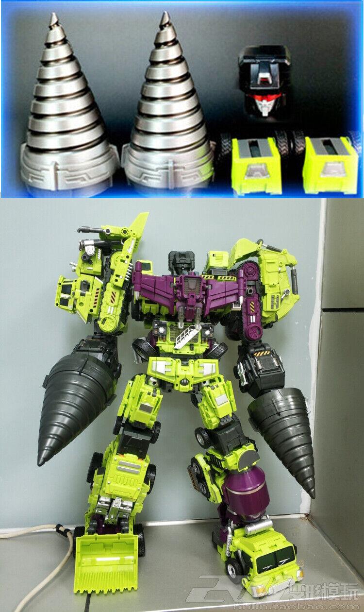 Jinbao Drills Weapon Upgrade Kit For Devastator Construction Builder Figure NEW