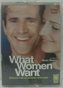 034-WHAT-WOMEN-WANT-034-DVD-NUOVO-SIGILLATO-Universal-MEL-GIBSON-HELEN-HUNT