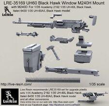 Live Resin 1/35 LRE-35169 UH60 Black Hawk Window M240H Mount