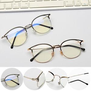 Radiation-Protection-Retro-Metal-Frame-Computer-Goggles-Anti-blue-Light-Glasses