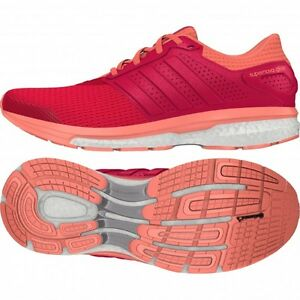 adidas supernova glide 8 w boost (shock rosso / sunglow) af6558