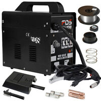 Gasless Mig 130 Portable Welder Welding Machine 110v Dynamic Power Us