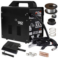 Gasless Mig 130 Portable Welder Welding Machine 110v Dynamic Power Us