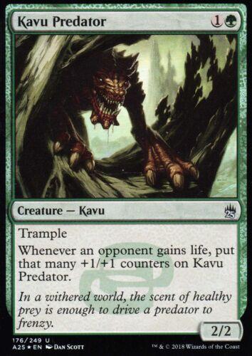 Kavu Predator FOILPresque comme neufMasters 25magic mtg