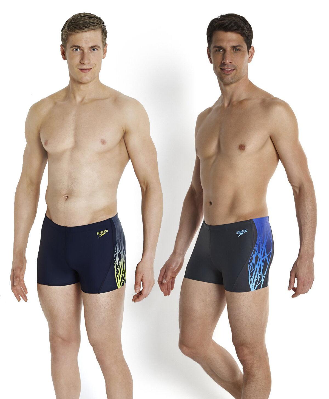 Speedo Men's Swimming Costume Dynamic Wave Aqua Shorts