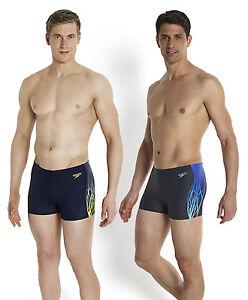 Image is loading Speedo-Men-039-s-Swimming-Costume-Dynamic-Wave-  sc 1 st  eBay & Speedo Menu0027s Swimming Costume Dynamic Wave Aqua Shorts | eBay