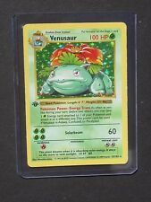Pokemon 1ST EDITION VENUSAUR 15/102 - SHADOWLESS BASE SET HOLO (PL)