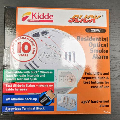 2SFW-Optique Fumée Alarme avec fonctionnalité sans fil