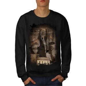 wellcoda Statue City Art Fashion Mens Sweatshirt City Casual Jumper