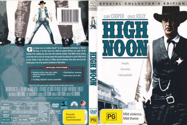 HIGH NOON  Gary Cooper / Grace Kelly  DVD R4 - PAL New   SirH70