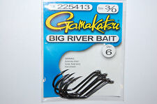 gamakatsu big river bait hook 3/0 snelling big fish 225413 catfish carp