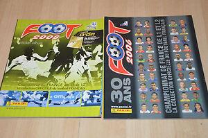 lot-2-albums-PANINI-sticker-vignettes-FOOT-2006-et-2008