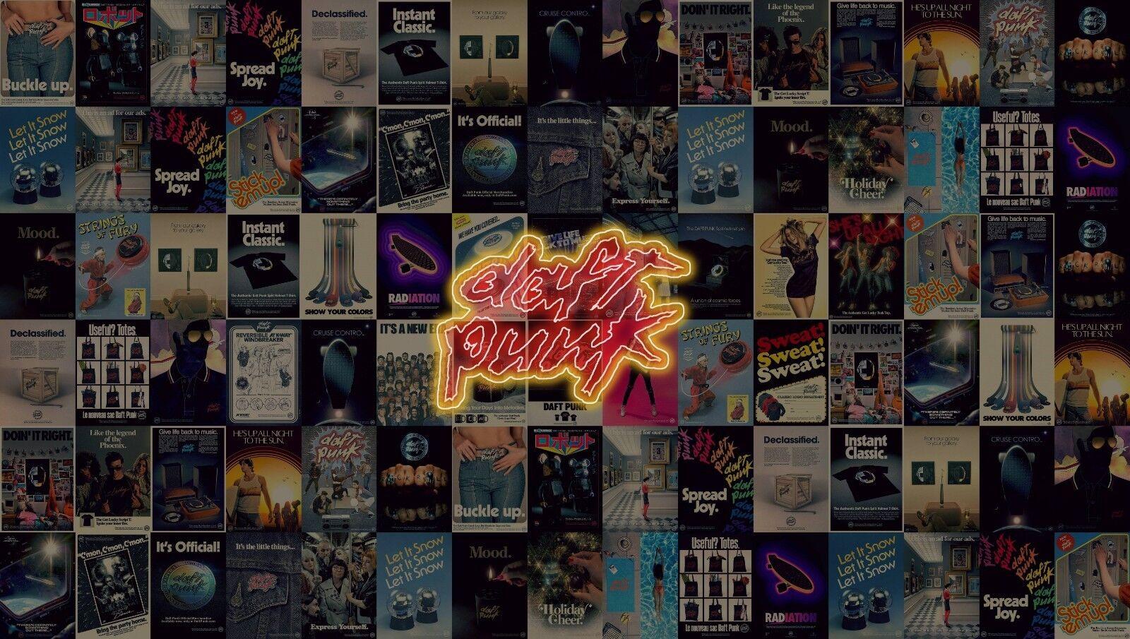 DAFT Punk Album Art-Musica Moderna Muro Poster Foto su tela stampe