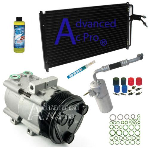 98-99 F250 Fits 1998-2001 Ford F150 V8 4.6L /& 5.4L New AC Compressor Kit