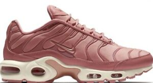 Womens NIKE AIR MAX PLUS Rust Pink Trainers AT5695 600