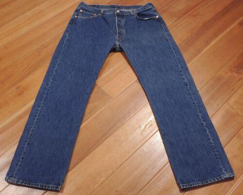 inv1902 100 L32 Mouche 501 Droit Coton Bouton inv1902 36x32 Levis Sz Jeans Hommes W36 pqYvOY