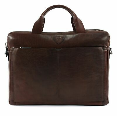 Joop! Brenta Pandion Briefbag Mhz Dark Brown