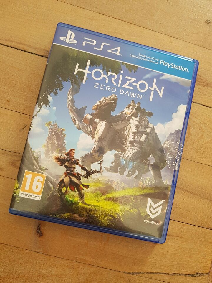 Horizon Zero Dawn, PS4, action