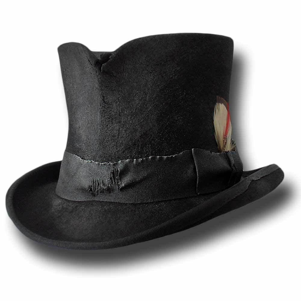 Dusty Western Top Hut Schwarz    | Online Shop